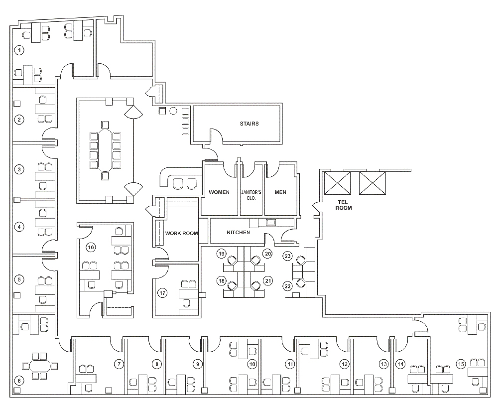 OFFICE BUILDING FLOOR PLANS Home Floor Plans